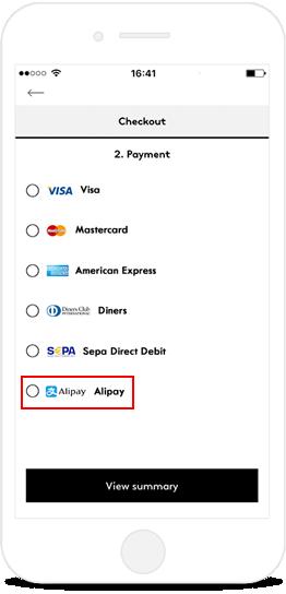 In app payment