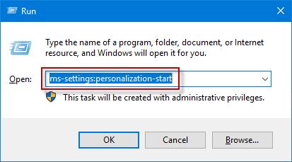 open run dialog box