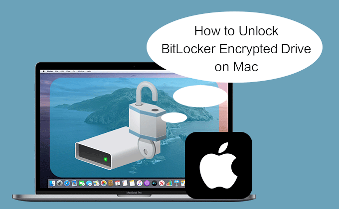 unlock BitLocker encrypted drive on Mac