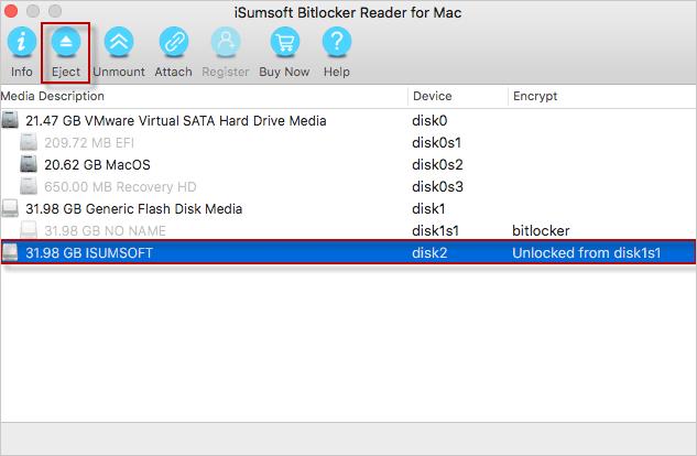 Eject USB drive