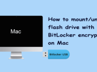 mount/unmount BitLocker encryption flash drive on Mac