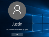 reset Windows 10 password without logging in