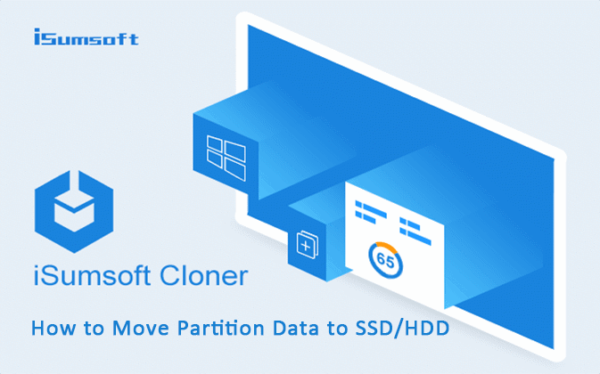 move partition data to ssd