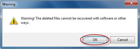 confirm to delete