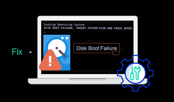 Fix disk boot failure