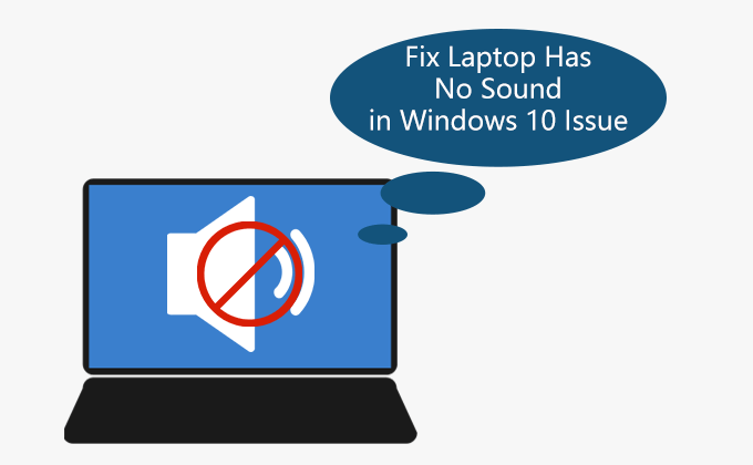 fix laptop has no sound