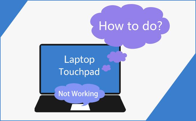 arreglar el touchpad no funciona