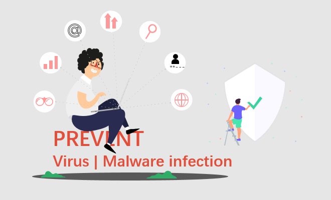 Protect your computer against malware