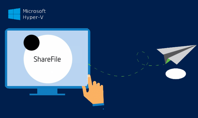 File sharing in Hyper-V virtual machine