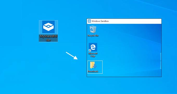 Run Windows Sandbox Config file