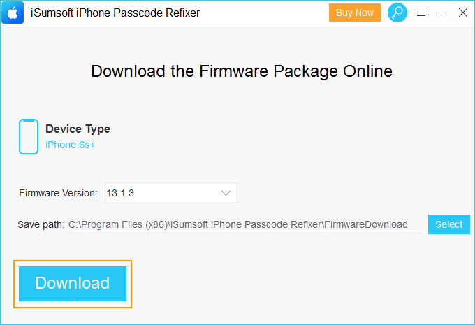 download and verify firmware package