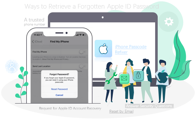 How to Retrieve a forgotten Apple ID password