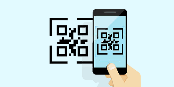 read QR code and scan it