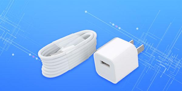 замените новое зарядное устройство или кабель для передачи данных
