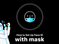 Unlock iPhone Face ID with a mask on