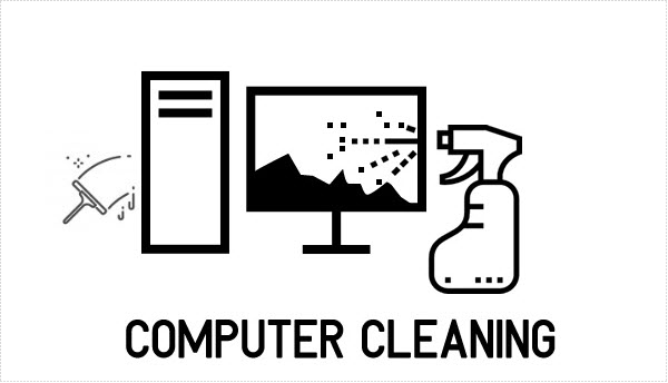 Computer dust cleaning services