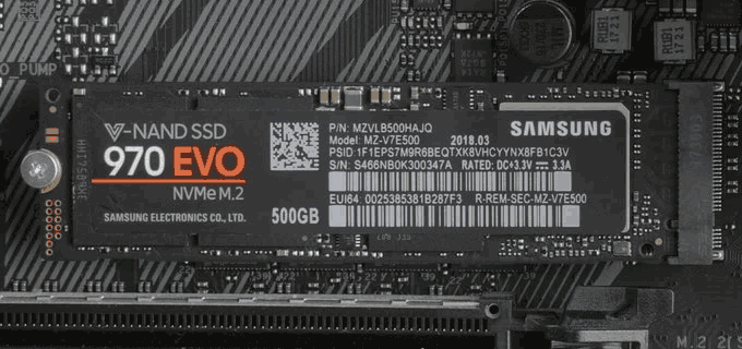 Install M.2 SSD disk