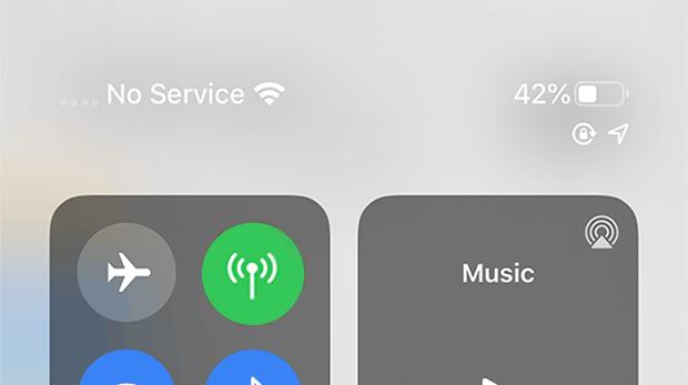 Fix iPhone says no service error