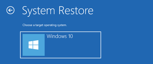 choose the operating system