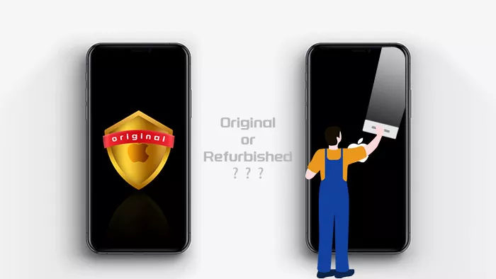 Check if your iPhone is original or refurbished